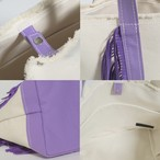 SideFringeToteBag[S]/PURPLE