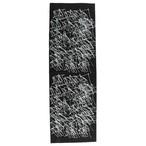 0867 × Crod / Tenugui / Metal Tip / Logo / Black