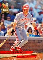 MLBカード 93FLEER Jeff Branson #027 REDS ルーキーカード