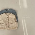 【予約販売】denim vest〈BELLA BAMBINA〉