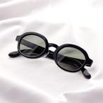 YY - 3 19 / polygon glasses (black lens)