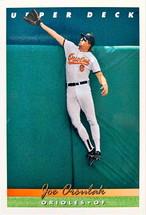 MLBカード 93UPPERDECK Joe Orsulak #260 ORIOLES