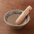 お茶碗ぐらいのすり鉢30選!すり鉢4.5号とすりこぎ №17