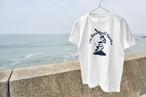 The Baseball Surfer Tシャツ【バニラホワイト】