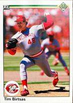 MLBカード 90UPPERDECK Tim Birtsas #137 REDS