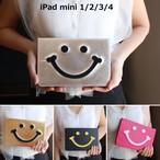 かわいい iPad mini 1 2 3 4 カバー 4色ニコちゃん 手帳型ケース