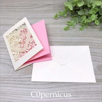 Pinkメッセージカード/ミニカード /0326-3<便箋・封筒・レターセット> 浜松雑貨屋 C0pernicus