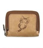 にゃんキュー折財布 猫のダヤン