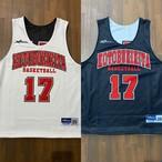 【デザインサンプル】寿北バスケットボールクラブ(U12・男子)リバーシブルシャツ