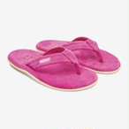 Neon Suede Island Slippers(Pink)
