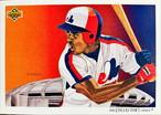 MLBカード 92UPPERDECK Delino DeShields #036 EXPOS CHECKLIST