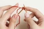 【郵送】ミトン基本の編み方