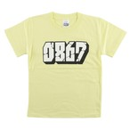 0867 / Kids T-Shirt / Blockbuster / Logo / Light Yellow