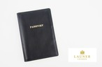 ロウナー ロンドン|LAUNER LONDON|パスポートケース|パスポートホルダー|670/3|ブラック×ボルドーカーフ