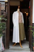 YAECA WRITE#98101 ワークシャツドレス レディース ホワイト