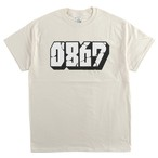 0867 / T-Shirt / Blockbuster / Logo / Natural