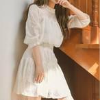 エレガントレースドレス