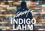 【ご予約受付(受注生産):10月下旬入荷予定】【LAHM NEW!】LAHM INDIGO / Pullover hoody LAHM