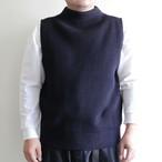 ANDERSEN ANDERSEN 【 mens 】navy vest