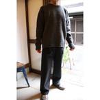 THE HINOKI  ラムウールニット・クルーネックプルオーバー セーター #TH18W-20