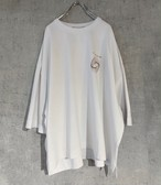 【訳有り 本日40%OFF】JieDa CIRCLE PRINT T-SHIRT (WHT)