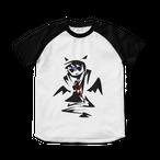 悪魔ちゃん/カラー*ラグランTシャツ
