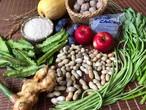 ベジバルーンセット10月(神無月)『『秋の十三夜 おいしい名月にふさわしい野菜たち』