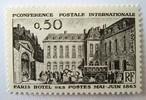 パリの郵便局 / フランス 1963