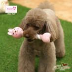 9。Paris Dog【正規輸入】犬 おもちゃ 骨 動物 音がなる カラフル