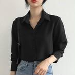 【tops】上品さたっぷり 相OL着瘦せシャツ