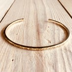 Stamp bangle   Brass