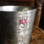 "Owly.stock sale ""Brass hammered stone pierce""(送料サービス商品)"
