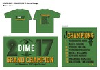DIME.EXE 2017 GRAND CHAMPION 記念Tシャツ(受注生産)