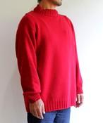 【予約販売】 手編み機で編んだカシミヤ糸(NO.18)のセーターsize 04.05 (CAA-922)