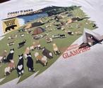 No.2021-summer-TS-007 : 9.1オンス マグナムウェイト ビッグシルエット Tシャツ / グランピング バージョン2 Tシャツ9.1oz