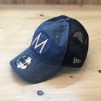 "Mountain Martial Arts / MMA×NEW ERA 5Th Aniv. Denim Trucker Cap ""Denim"""