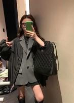 Jレイヤードジャケット ジャケット 韓国ファッション