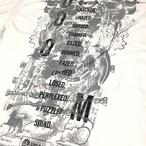 【通販限定】N//M//S Tshirt / white  ※ラスト1枚限り