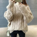 【tops】無地シンプルプルオーバーファッションセーター24809997
