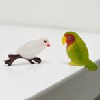 鳥さんブローチ