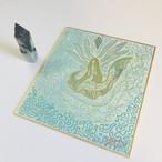 糸魚川産(入コン沢)コバルト青翡翠 + 石の精霊を描く自動書記