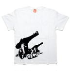 【SAKE Tシャツ】SAKE CANNON / ホワイト