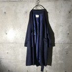 [used] navy gown coat