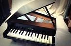 〔中古〕KAWAI ミニピアノ 黒 32鍵盤