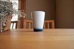 砥部焼/フリーカップ(中)/内側青/ヨシュア工房