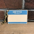 DFA: HEYYO! CARD CASE Limited Color Blue