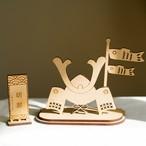 木製 / 組み立て端午の節句 五月人形