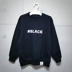 キッズ 子供服 vanilla&spice #BLACK ロゴ プリント 長袖 スウェット トレーナー ブラック