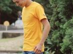 """""""CAL """" Champion Tシャツ(yellow)"""