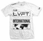 LIVE FIT.リブフィット International Tee  (Tシャツ)【White】メーカー直輸入品!
